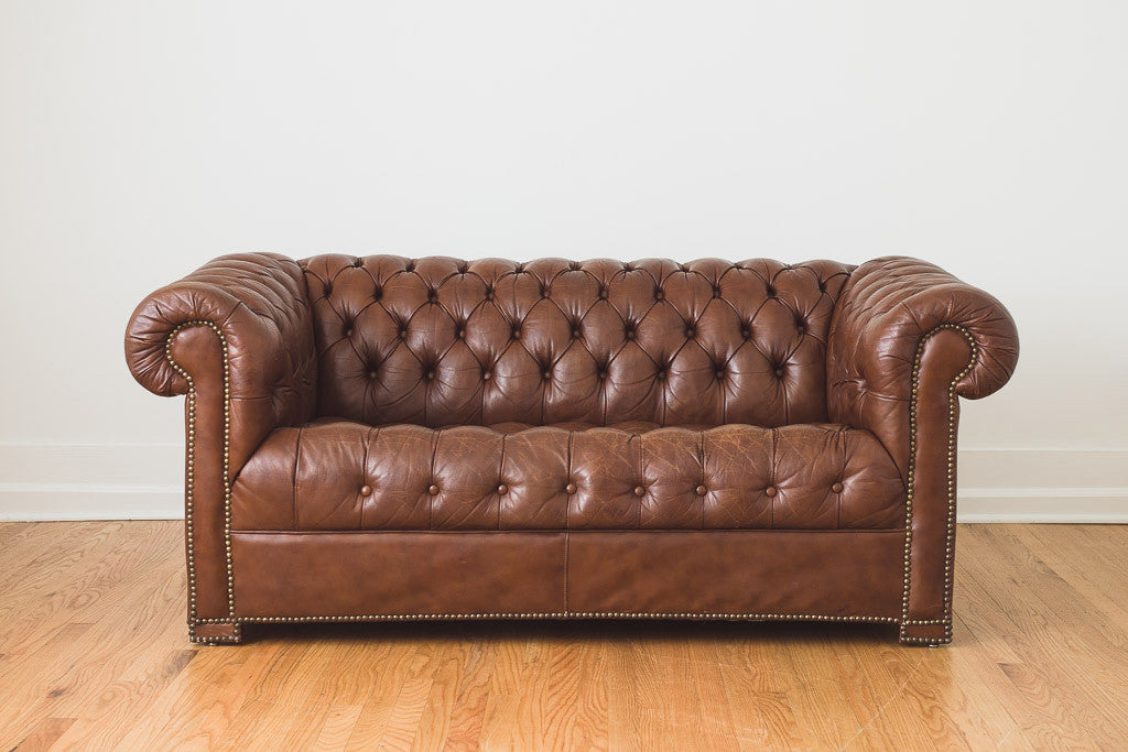 Leather Chesterfield - Homestead Seattle