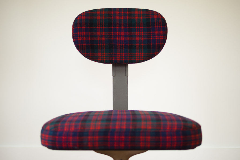 Plaid Cramer Industrial Chair