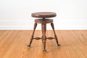 Clawfoot Piano Stool