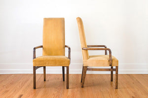 Drexel High Back Chairs
