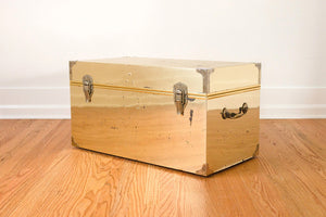 Brass Trunk Coffee Table
