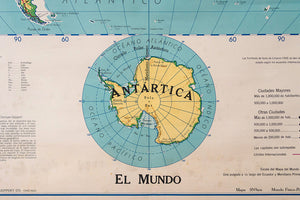 MCM Spanish World Map