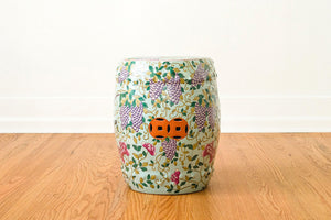Pair of Ceramic Garden Stools