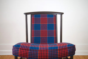 MCM Plaid Dux Chairs