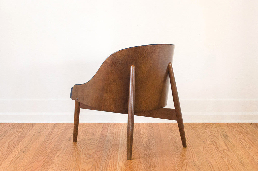MCM Leather Kodawood Chair