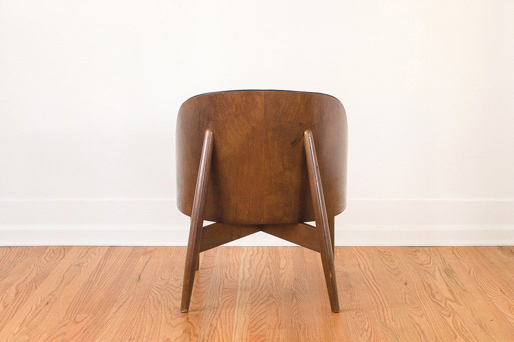 Mcm Leather Kodawood Chair Homestead Seattle