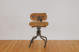 Deer Hide Desk Chair
