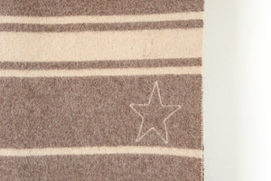 Vintage Wool Star Blanket