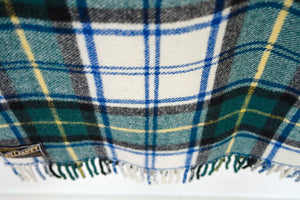 Irish Tartan Wool Blanket