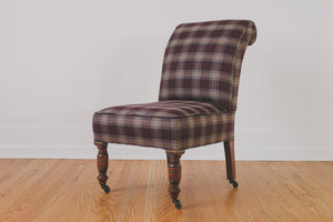 HS Collection Plaid Chair