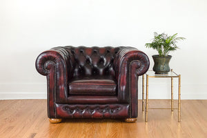 English Chesterfield Chair
