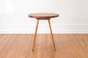 Rustic Wood Side Table
