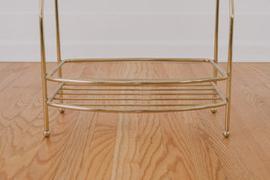 Hollywood Regency Towel Rack