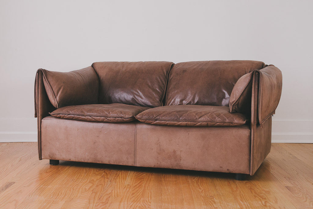 MCM Leather Lotus Sofa