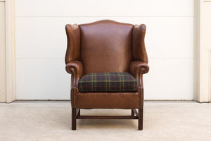 Vintage Smoking Wingback