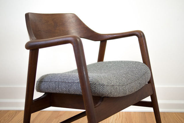 Gunlocke Herringbone Chairs