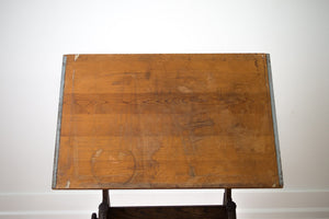 Vintage Anco Draftsman's Table
