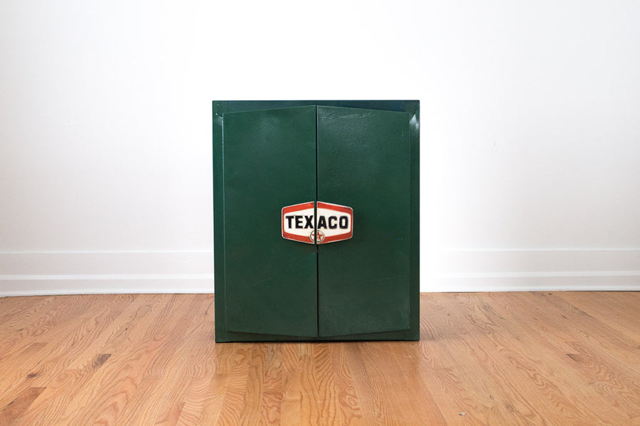 Vintage Steel Texaco Shop Cabinets