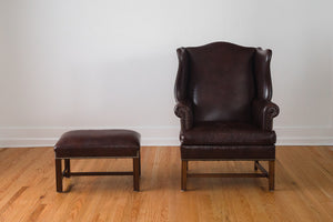 Hancock & Moore Leather Wingback
