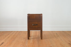Art Deco Waterfall Nightstand