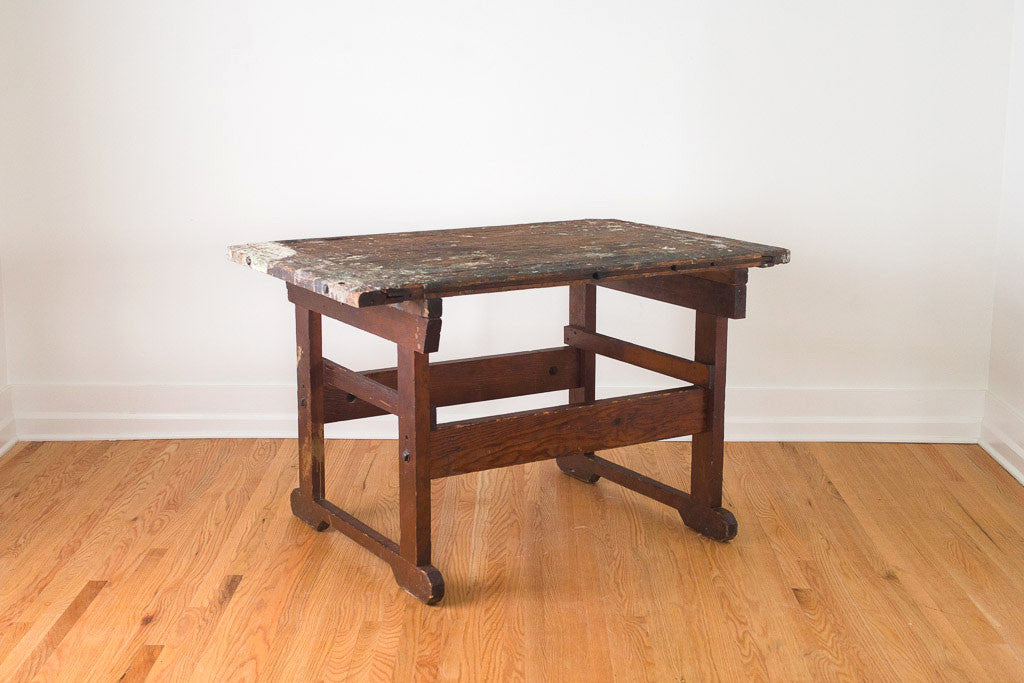 Industrial Artist's Table