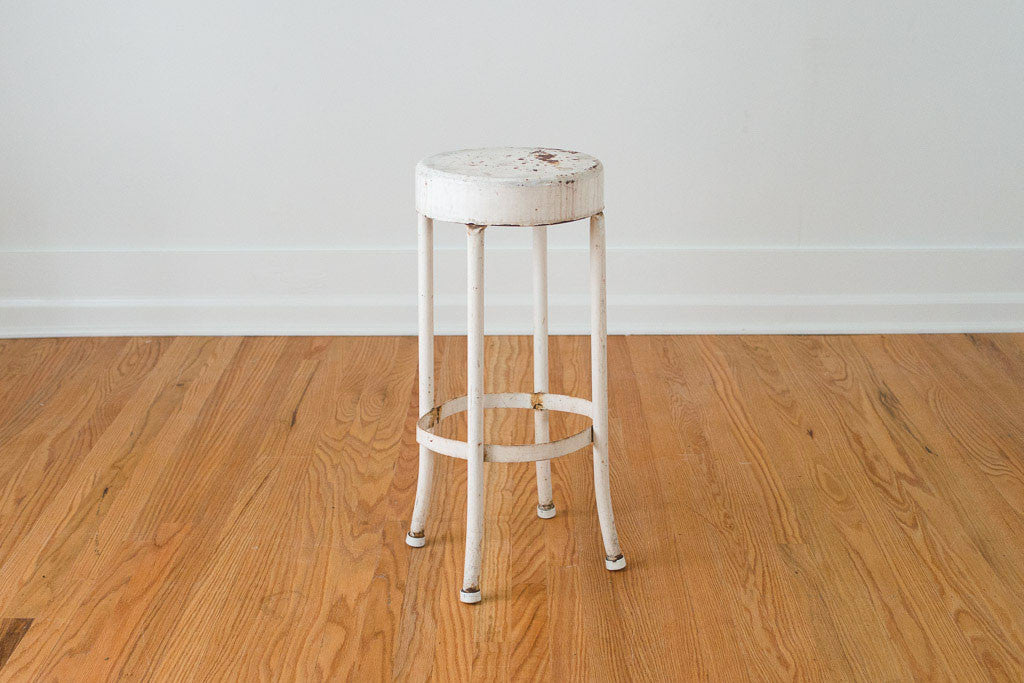 Industrial Shop Stool