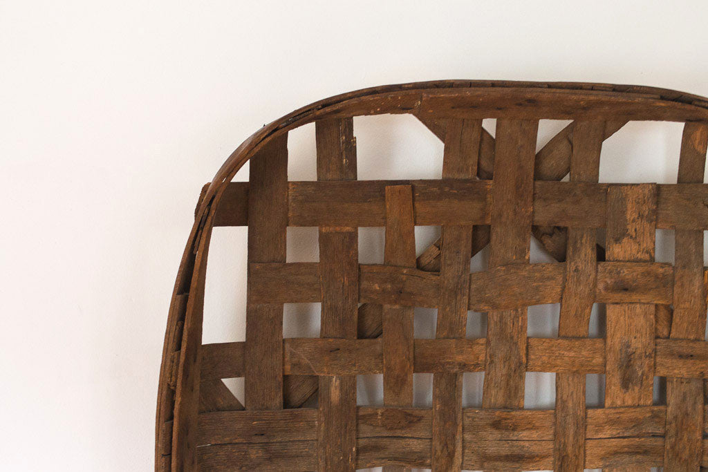 Antique Tobacco Basket