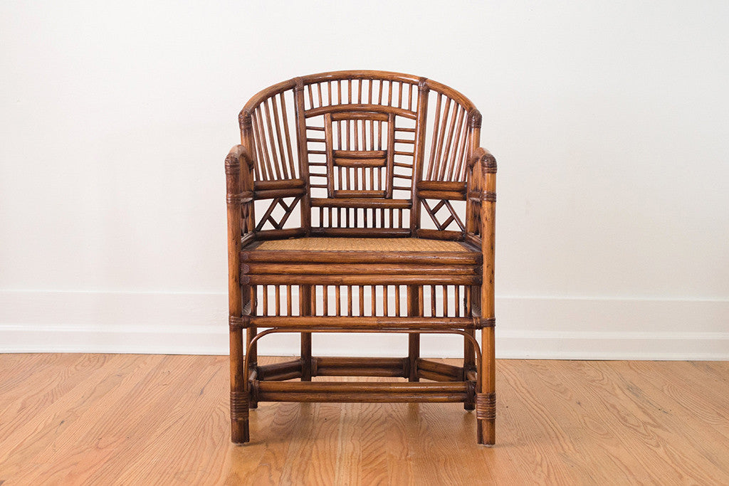 MCM Chinoiserie Cafe Chair