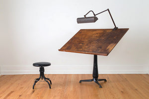 Cast Iron Draftsman's Table