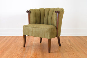 Channel Back Parlor Chair