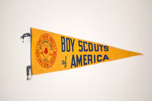 BSA Pennant Camp Flag