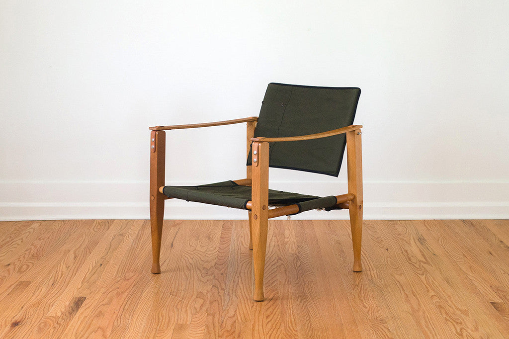 Military Tent Campaign Chair