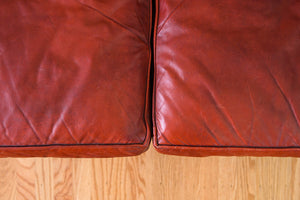 Red Leather Chesterfield