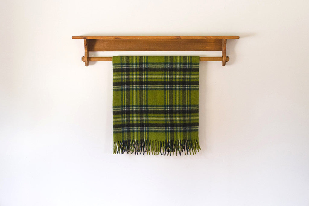 Plaid Stadium Blanket