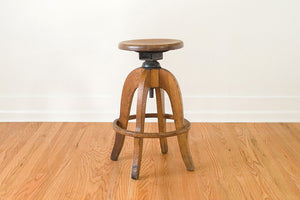 Industrial Banker's Stool