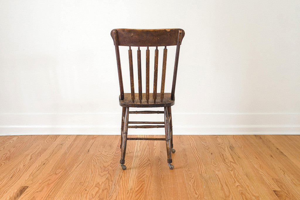 Oak Farmhouse Chair