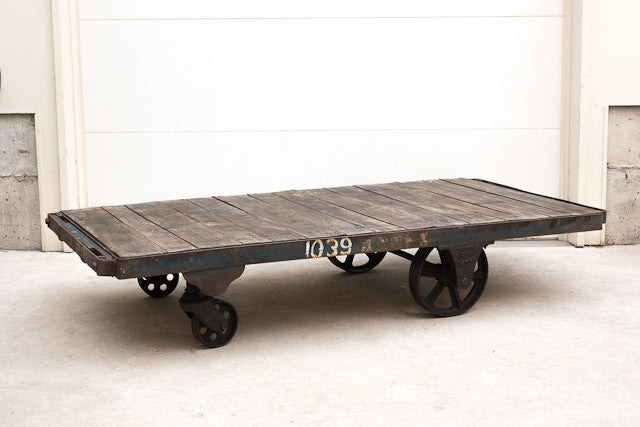 Nutting Factory Cart Coffee Table