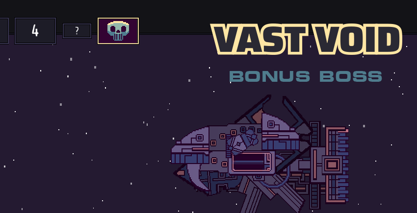 Vast Void - The Bonus Games Boss