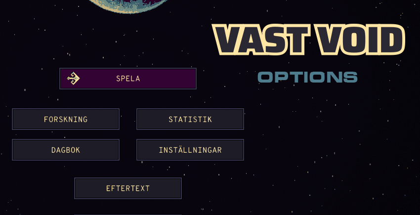 Options, localization & Lunar Soil Game Jam