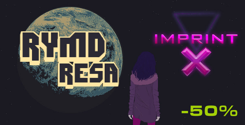 RymdResa and imprint-X are 50% off
