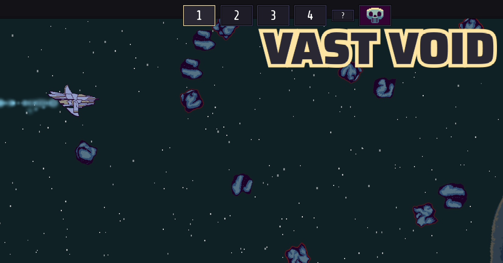 First look at Vast Void on iPad
