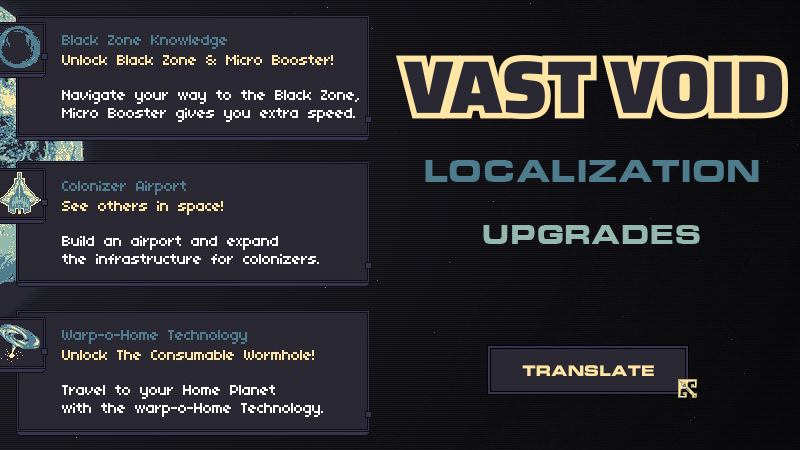Translate the upgrades