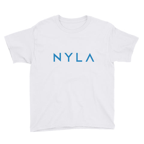 Youth Short Sleeve T-Shirt in White