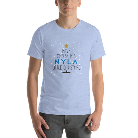 """Have Yourself a Nyla Little Christmas"" Short-Sleeve Unisex T-Shirt (Available in Multiple Colors)"