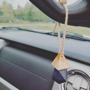 Car Diffuser Air Freshener - Matte Black