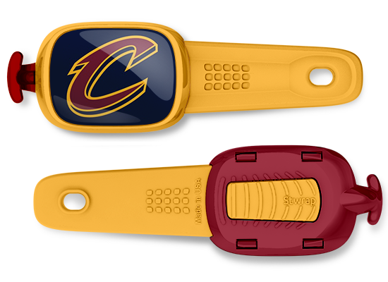 Cleveland Cavaliers (Cavs) Stwrap - Front & Back View