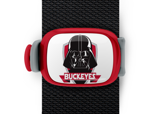 Ohio State Buckeyes Darth Vader on White Stwrap - Stwrap