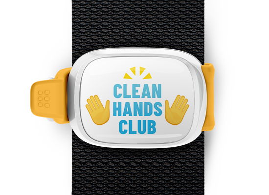 Clean Hands Club <br> Stwrap Bag Tag