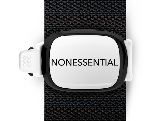NonEssential <br> Stwrap Bag Tag
