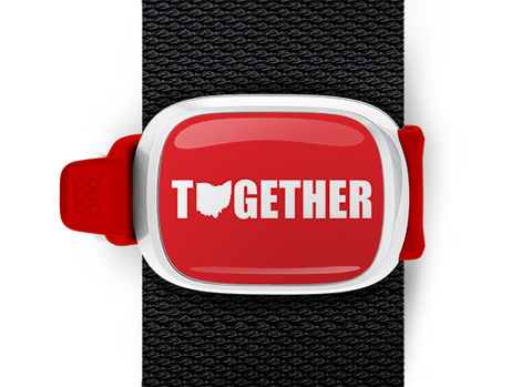 Ohio Together <br> Stwrap Bag Tag